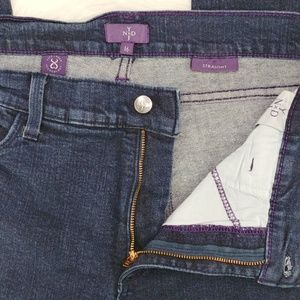 NYDJ Jeans - NYDJ | Marilyn straight jeans in dark wash